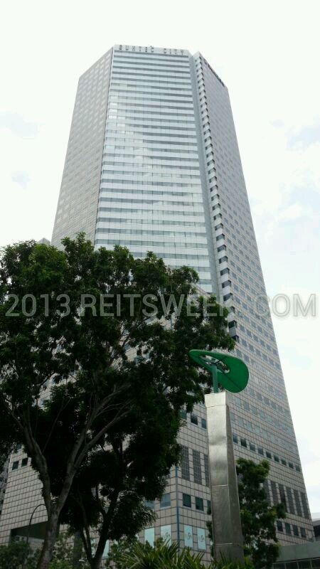 Suntec REIT property Suntec City, Singapore.