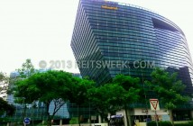 Mapletree Industrial Trust's property at Changi Business Park, Singapore.