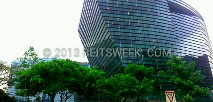 Mapletree Industrial Trust's property at Changi Business Park, Singapore. (Photo: REITsWeek)