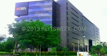 Ascendas REIT property in Changi Business Park, Singapore.