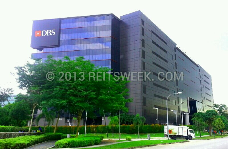 Ascendas REIT property in Changi Business Park, Singapore.