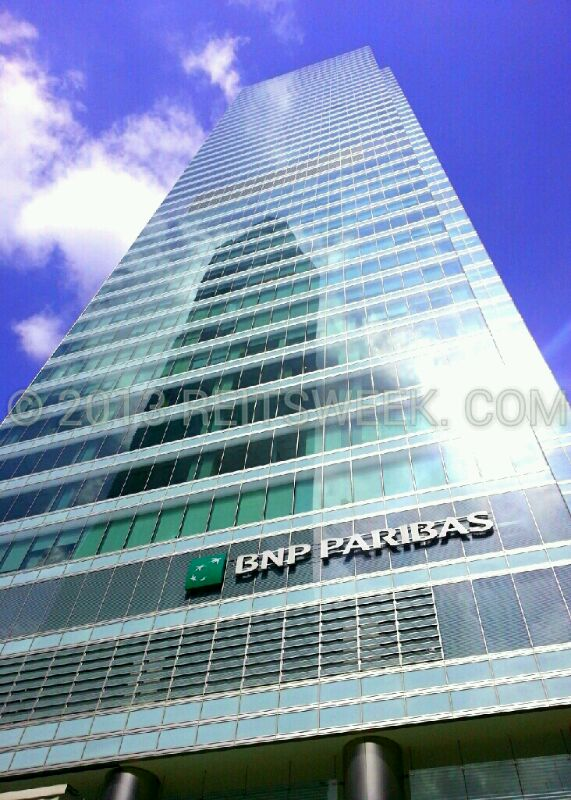 Keppel REIT's Ocean Financial Centre, Singapore.