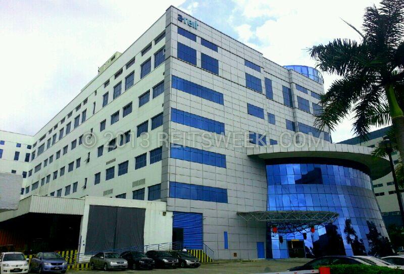 Ascendas REIT's property in Changi South Lane, Singapore.