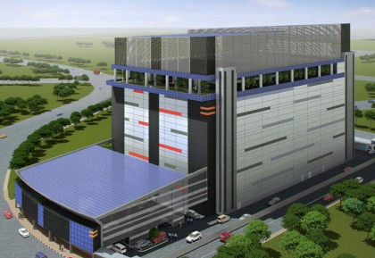 Equinix Singapore data centre, a BTS project by Mapletree Industrial Trust