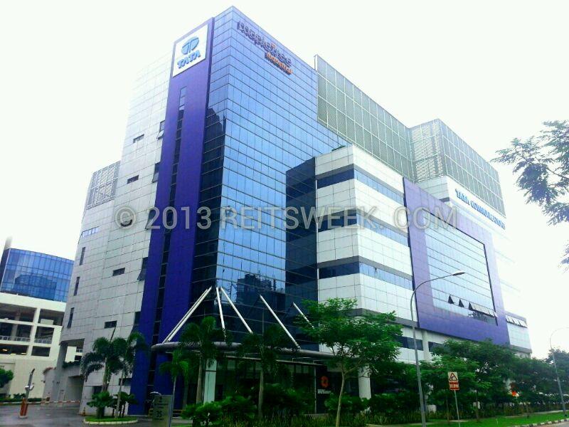 Mapletree Industrial Trust's Tata Communications Exchange at Tai Seng Street, Singapore.