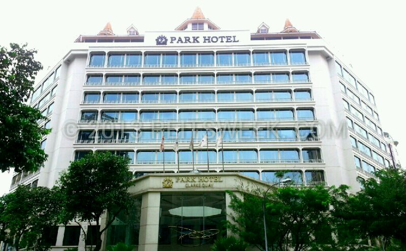 Ascendas Hospitality Trust property in Singapore Park Hotel Clarke Quay