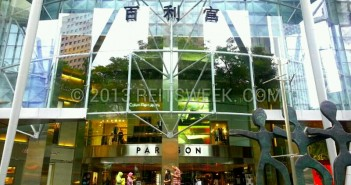SPH REIT's property on Orchard Road, The Paragon. (Photo: REITsWeek)