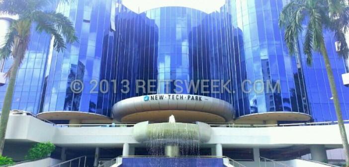 Sabana Shari'ah Compliant REIT's New Tech Park. (Photo: REITsWeek)