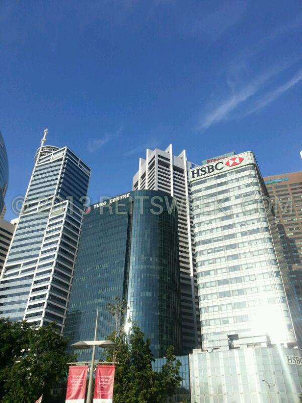 CapitaCommercial Trust's HSBC Building, Singapore.