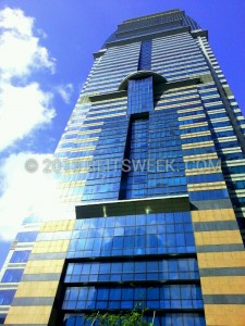 CapitaCommercial Trust property, Capital Tower, in the heart of Singapore's CBD.