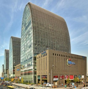 One of the properties in CapitaRetail China Trust's portfolio.