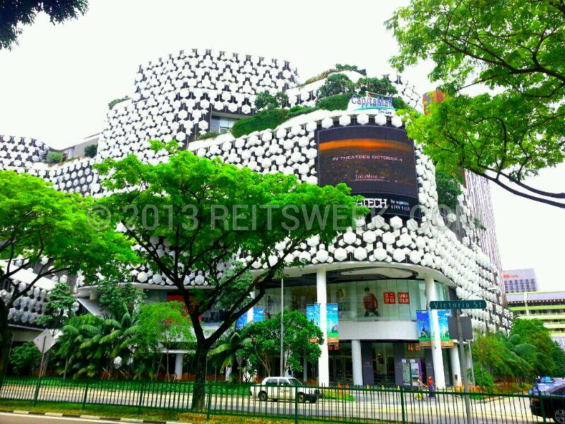 Retail REIT CapitaLand Mall Trust's property, Bugis +