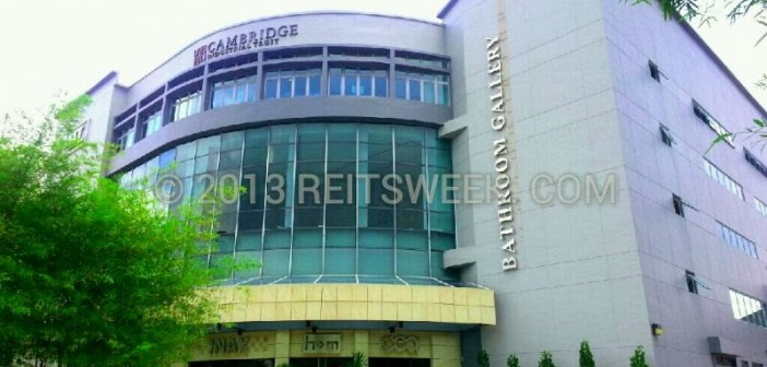 Cambridge Industrial Trust's property in Changi South.