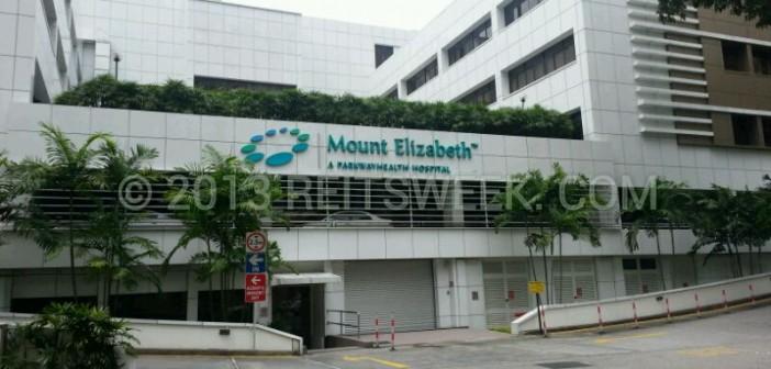 Parkway Life REIT Mount Elizabeth Hospital