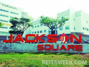 Jackson Square, a property in Viva Industrial Trust's current portfolio.