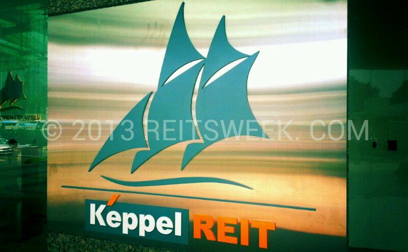 Singapore office landlord Keppel REIT.