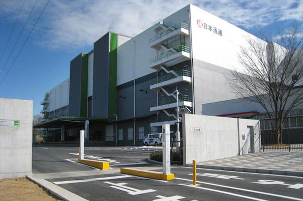 Mapletree Logistics Trust property in Japan, Moriya Centre.