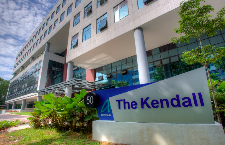 Ascendas REIT' property in Science Park, The Kendall (Photo by Ascendas REIT)