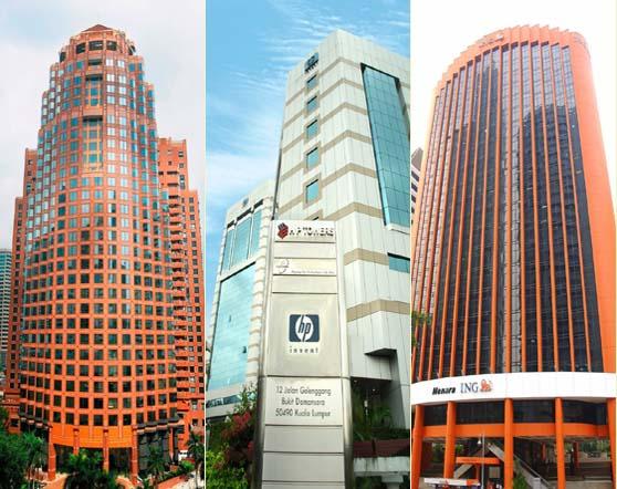 Tower REIT's portfolio of properties in Kuala Lumpur (Photo : Tower REIT)