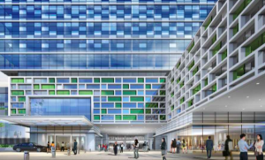 Artist's impression of the hotel development at China Square Central.
