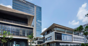 Mapletree Greater China Commercial Trust's Sandhill Plaza (Photo: Colliers International)