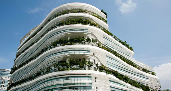 Soilbuild Business Space REIT's property, Solaris, located within Singapore's Fusionopolis cluster.