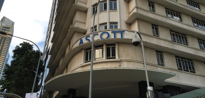 Ascott REIT's property in Singapore, Ascott Raffles Place. (Photo: REITsWeek)