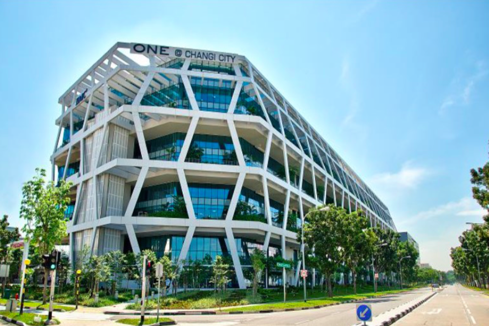 Ascendas REIT property in Singapore, One@Changi City. (Photo: Ascendas REIT)