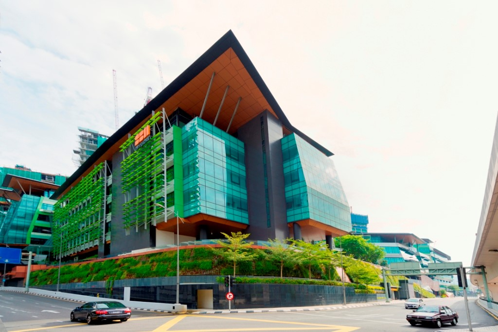 Platinum Sentral in Kuala Lumpur, a property of MRCB-Quill REIT.
