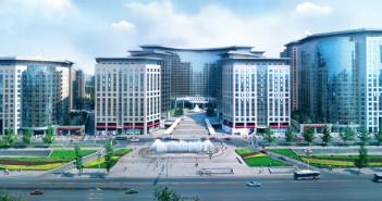 Hui Xian REIT's Beijing Oriental Plaza.