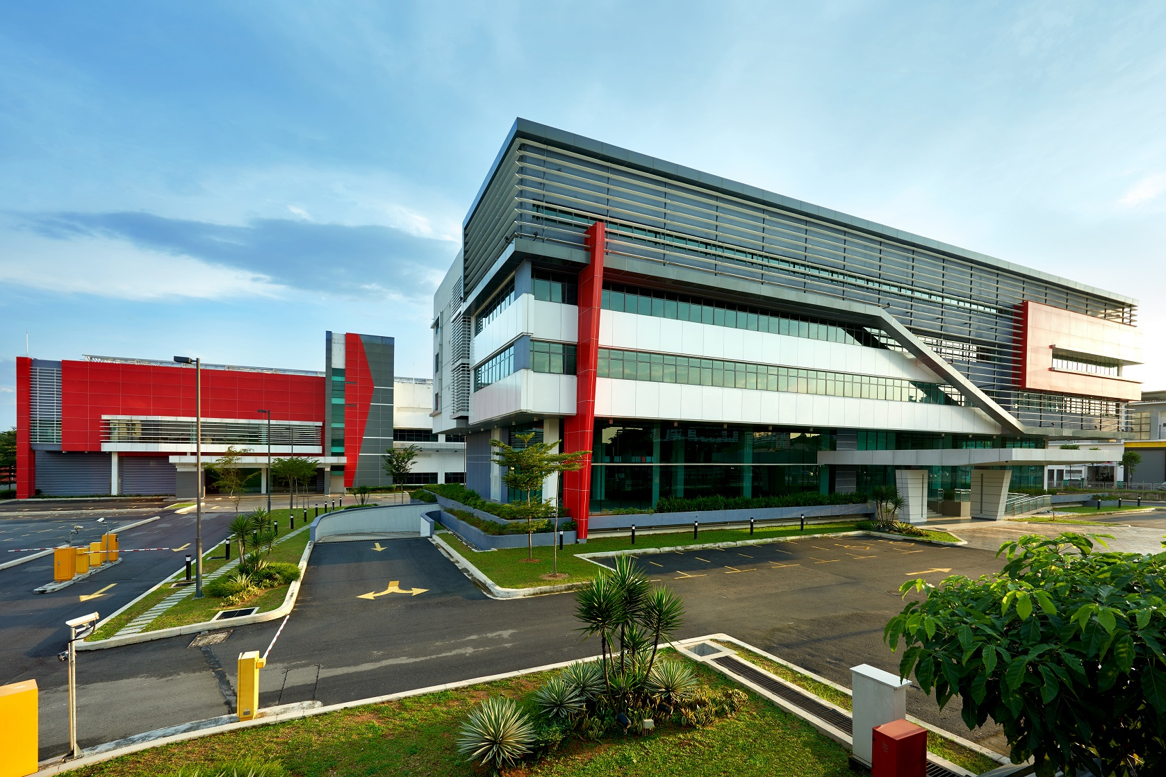 Axis REIT's Axis Business Campus in the Petaling Jaya industrial precinct . (Photo: Axis REIT)