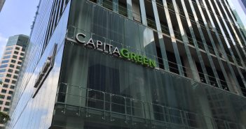 CapitaLand Commercial Trust's CapitaGreen. (Photo: REITsWeek)
