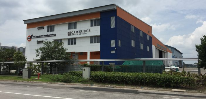 ESR-REIT's 70 Seletar Aerospace View (Photo: REITsWeek)