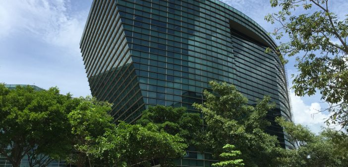 Mapletree Industrial Trust's property at Changi Business Park, the Signature. (Photo: REITsWeek)