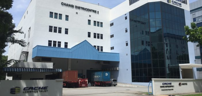 Cache Logistics Trust's Changi Districentre 2 (Photo: REITsWeek)