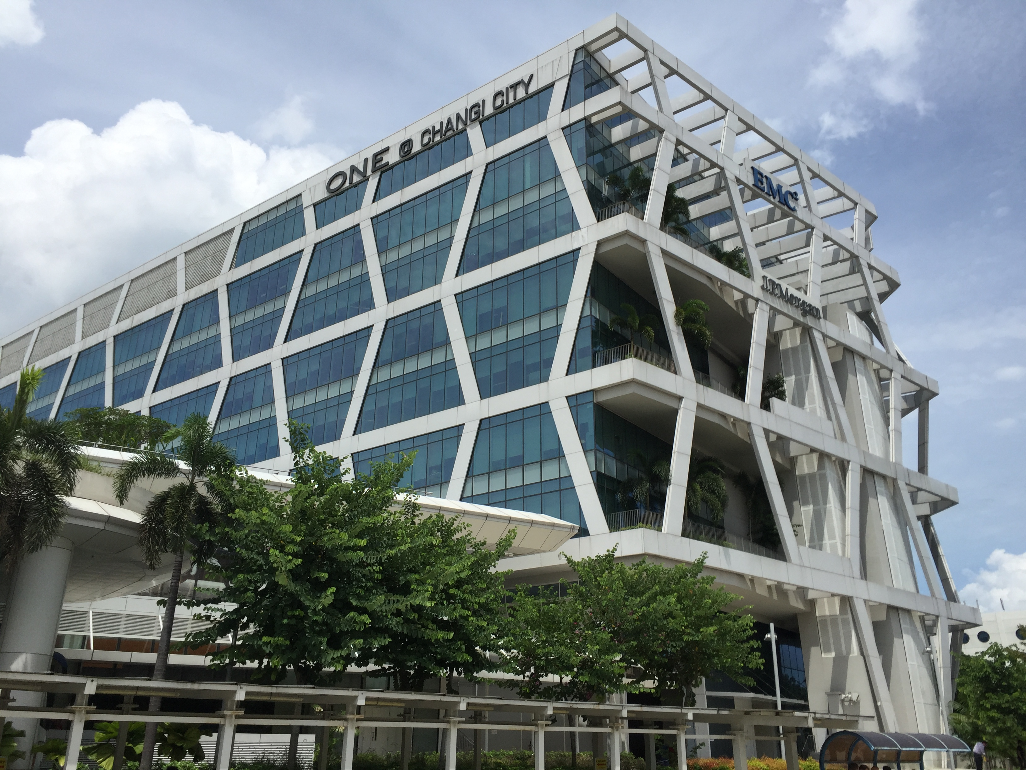 Ascendas REIT's property in Changi Business Park, One@Changi City. (Photo: REITsWeek)