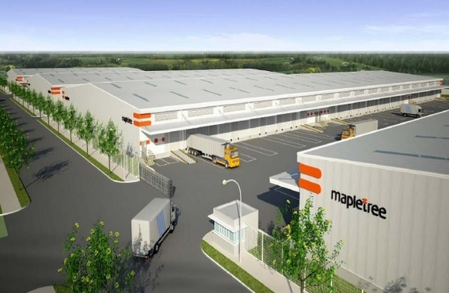An artist's impression of Mapletree Logistics Park Phase 2 in Vietnam. (Photo: Mapletree Investments Pte Ltd)