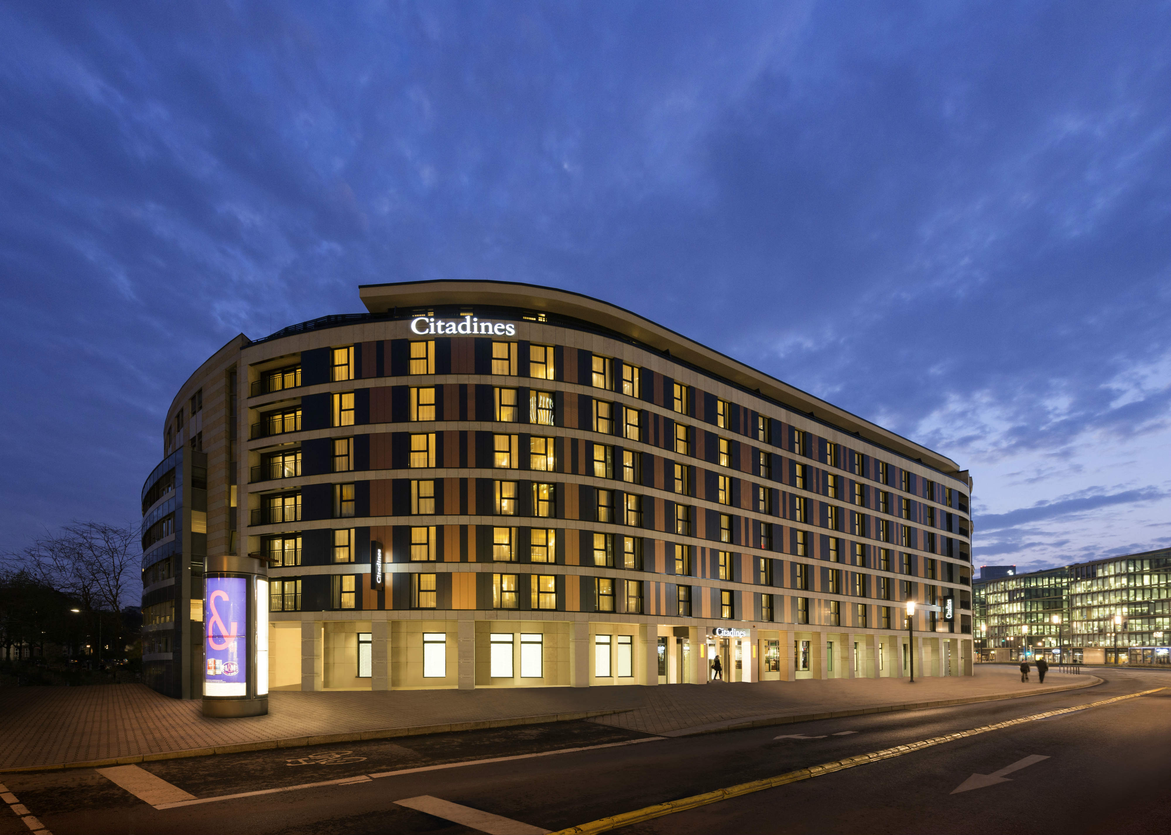 Ascott Residence Trust's Citadines City Centre Frankfurt. (Photo: Ascott Residence Trust)