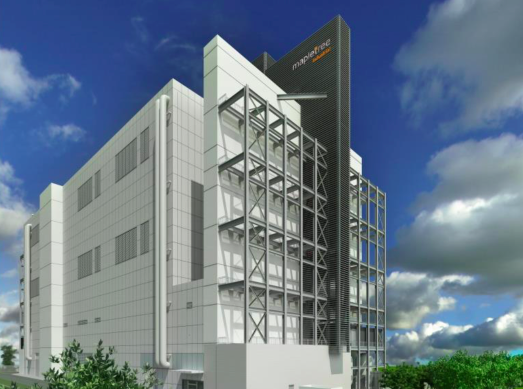 Mapletree Industrial Trust's third data-centre BTS. (Photo: Mapletree Industrial Trust)