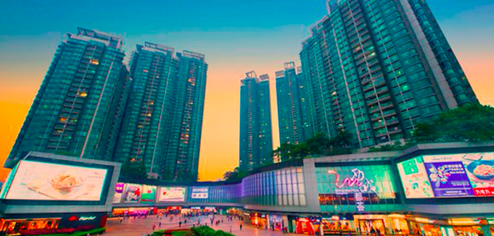 Link REIT's Metropolitan Plaza iin Guangzhou, China. (Photo: Link REIT)