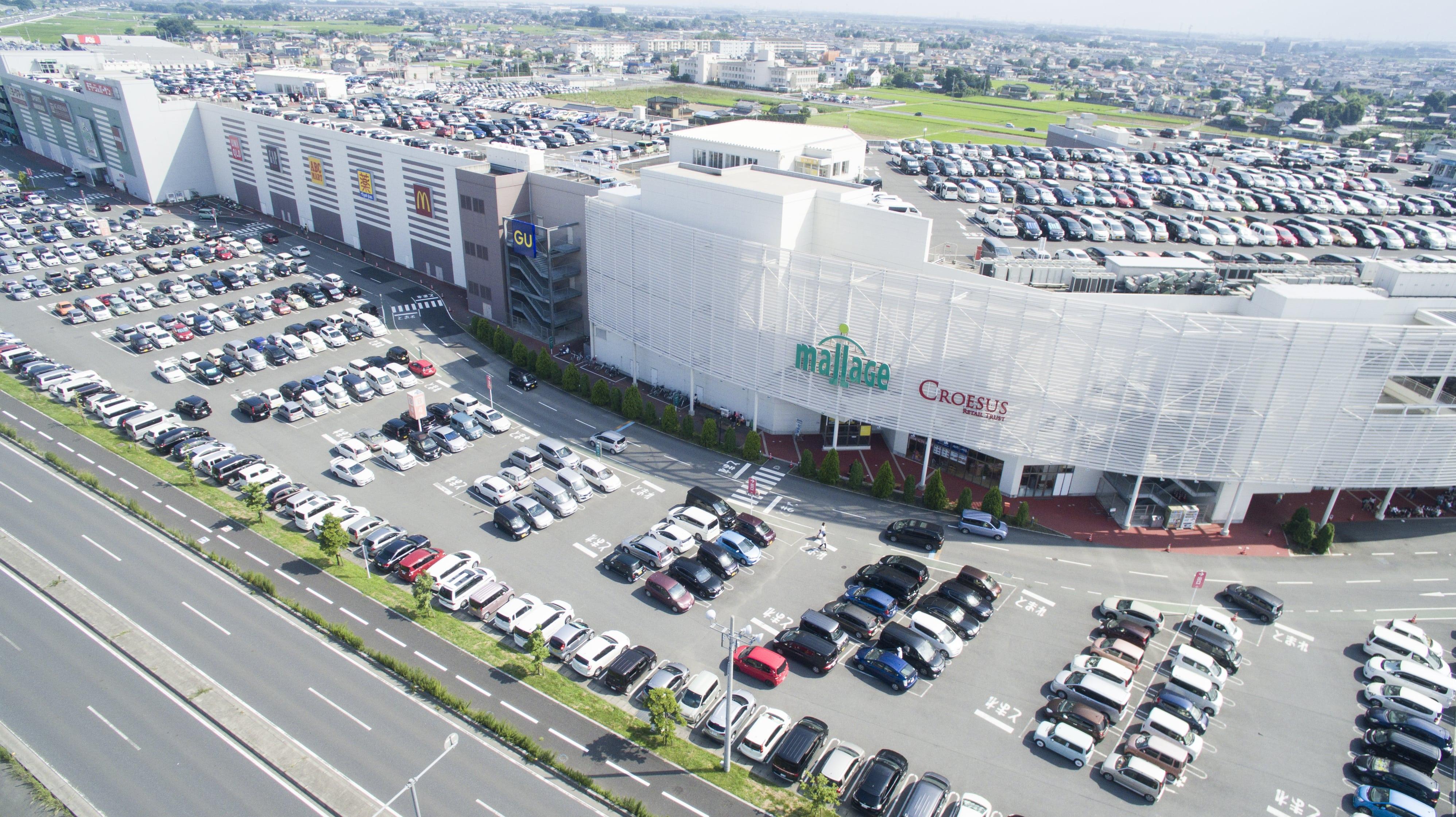 Croesus Retail Trust's Mallage Shobu. (Photo: Croesus Retail Trust)