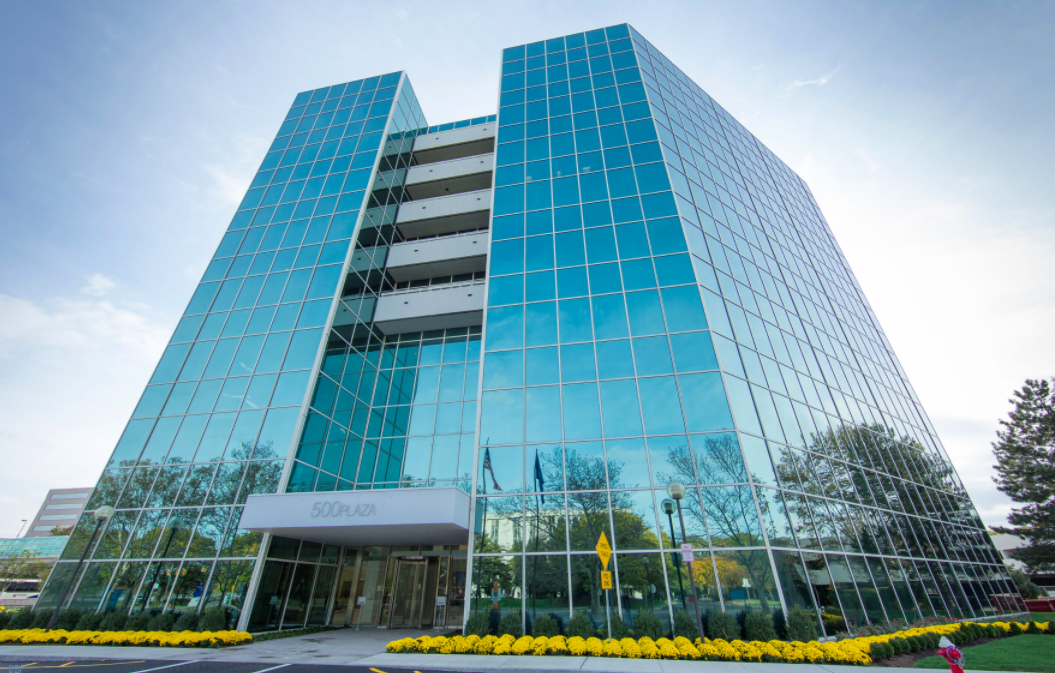 500 Plaza Drive in Secaucus, New Jersey. (Photo: Manulife US REIT)