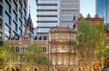 Artist's impression of Mirvac Group's and Suntec REIT's Olderfleet, 477 Collins Street. (Photo: Mirvac Group/Suntec REIT)