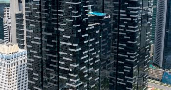 CapitaLand Commercial Trust's Asia Square Tower 2. (Photo: CapitaLand Commercial Trust)