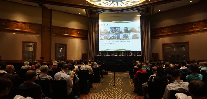 Sabana REIT's AGM, which was conducted on 25 April 2018. (Photo: Sabana REIT)