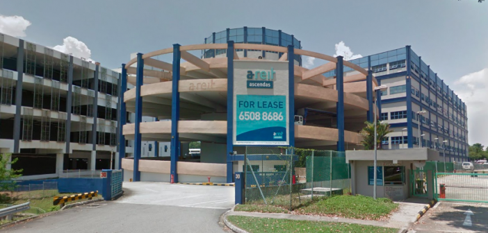 Ascendas REIT's 30 Old Toh Tuck Road. (Photo: Google Maps)