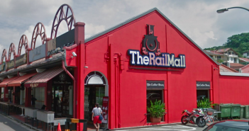The Rail Mall, a property that will be acquired by SPH REIT. (Photo: Google Maps)