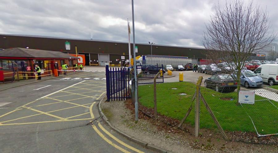 The DHL Supply Chain distribution warehouse at Aston Lane North, Preston Brook. (Photo: Google Maps)