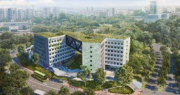 Artist's impression of Ascott REIT's lyf one-north Singapore. (Image: Ascott REIT)