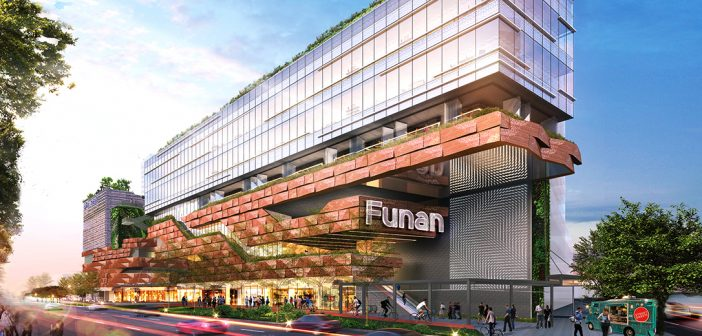 CapitaLand Mall Trust property, Funan. (Photo: REITsWeek)